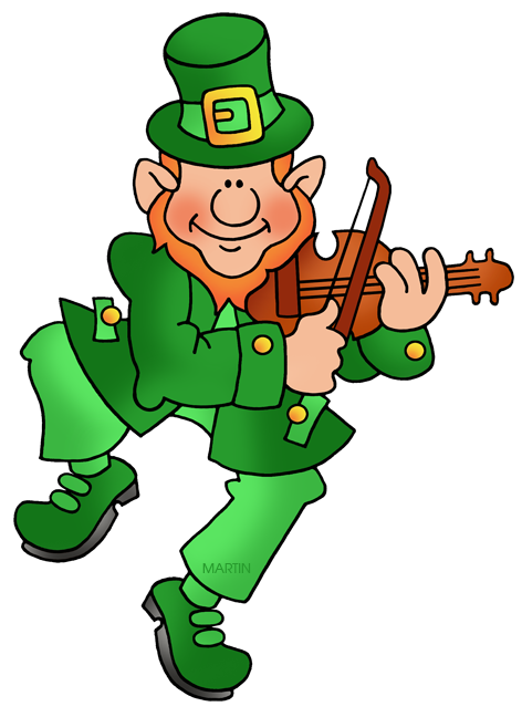 Leprechaun with Fiddle